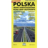 Mapy i atlasy turystyczne, Polska mapa samochodowa - TYSIĄCE PRODUKTÓW W ATRAKCYJNYCH CENACH (opr. kartonowa)