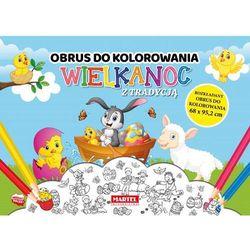 Wielkanoc z tradycją - Obrus do kolorowania