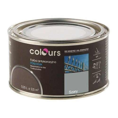 Farby, Farba antykorozyjna Colours szara 0,25 l