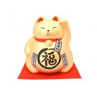 Rzeźby i figurki, Duża Figurka skarbonka Maneki Neko - Majątek
