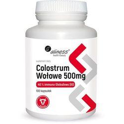 Aliness - Colostrum Wołowe - 100caps
