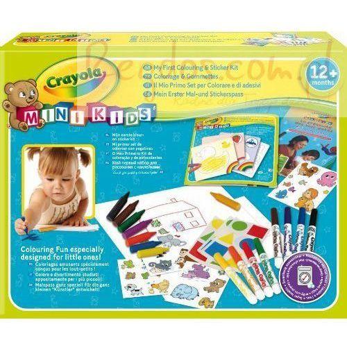 Kreatywne dla dzieci, MÓJ PIERWSZY ZESTAW ARTYSTYCZNY CRAYOLA