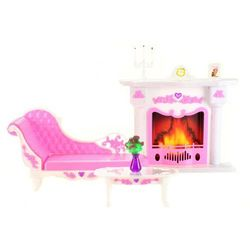 Lamps zestaw mebli dla lalki Glorie, salon