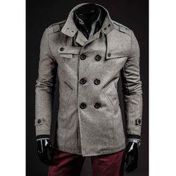 Płaszcz męski szary Denley 8857B