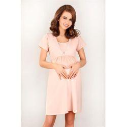 Koszulka nocna Koszula Nocna Model 3032 Pink - Lupo Line