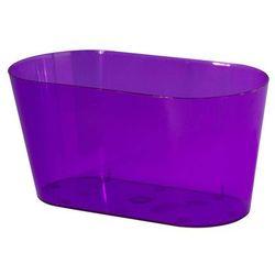 Osłonka na storczyki 26.7 x 13.5 cm plastikowa fioletowa FORM-PLASTIC
