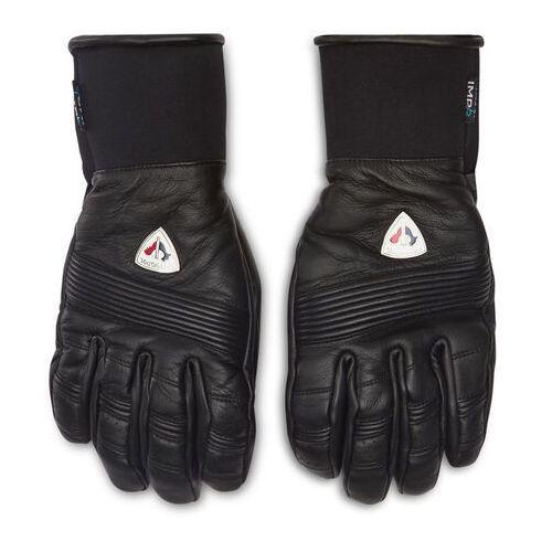 Rękawice ochronne, Rękawice narciarskie ROSSIGNOL - Retro Lth Impr RLJMG17 Black 200