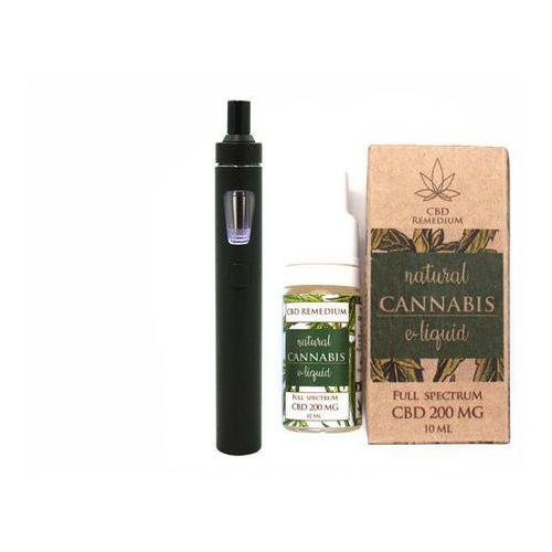 Akcesoria do aromaterapii, Waporyzator CBD Joyetech eGO AIO i Liquid CBD 200mg - zestaw