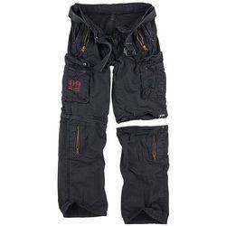 Surplus Spodnie Trekkingowe Royal Outback 2w1 Czarne - Czarny