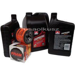 Olej 5W30 oraz filtr oleju silnika Buick Rendezvous 3,6