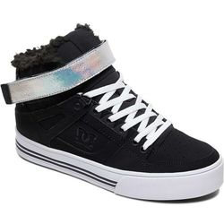 buty DC - Pure High-Top V Wnt Black/Silver (BS2)