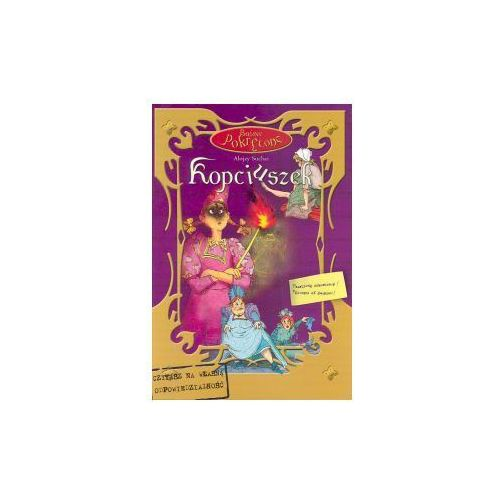 Książki dla dzieci, Kopciuszek Baśnie Pokręcone - Alojzy Suchar (opr. twarda)