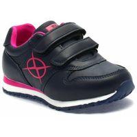 Buty sportowe dla dzieci, Buty sportowe dla dziewczynki Axim 61221 Granatowe