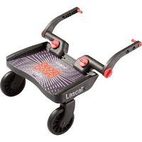 Dostawki do wózków, Buggy Board Mini marki Lascal kolor czarny - BEZPŁATNY ODBIÓR: WROCŁAW!