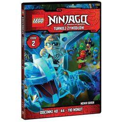 LEGO Ninjago: Turniej Żywiołów. Część 2 (odcinki 40-44) (DVD)