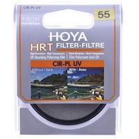 Filtry fotograficzne, Filtr Hoya FILTR PL-CIR UV HRT 55 MM (HOYA-PLCHRT55P) Darmowy odbiór w 21 miastach!