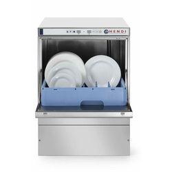 Hendi Zmywarka do naczyń - elektroniczna 50x50 z dozownikiem detergentu | 3 programy mycia | sterowanie elektroniczne | 570x600(+370)x(H)830 mm - kod Product ID