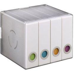 Box 96 HAMA pudełko na płyty CD 96 szt Przezroczysty/Biały