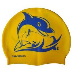 Czepek AXER A2995 Ocean Żółto-niebieski + Zamów z DOSTAWĄ JUTRO!