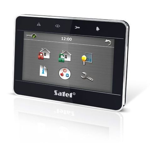 """Centralki alarmowe, INT-TSG-BSB Manipulator graficzny z ekranem dotykowym 4,3"""" czarny SATEL"""