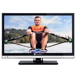 """Telewizor LED 20"""" USB HDMI VGA DVB-T/C/S2 MPEG-4/2 12V 230V"""