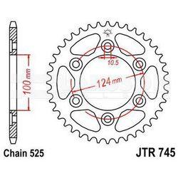 Zębatka tylna stalowa JT 745-42, 42Z, rozmiar 525 2300915 Ducati Supersport 1000
