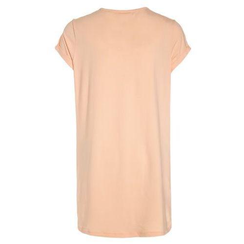 Koszule dla dzieci, Skiny ETHNIC PARADISE SLEEP GIRLS Koszula nocna peach fuzz