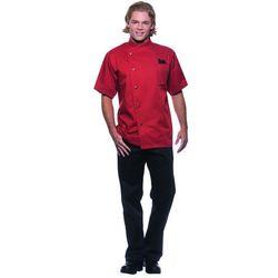 Bluza kucharska męska, rozmiar 56, w kolorze rdzy | KARLOWSKY, Gustav