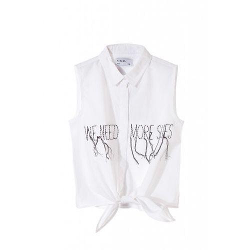 Koszule dla dzieci, Koszula dziewczęca bez rękawów 4J3409 Oferta ważna tylko do 2031-06-11