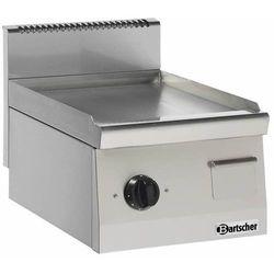 Płyta grillowa elektryczna gładka nastawna | 390x440mm | 3600W