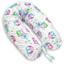 MAMO-TATO Poduszka dla ciężarnych kobiet Sówki białe