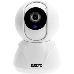 Niania elektroniczna KEEYO LV-IP12PTZ Kamera IP HD Wifi bezprzewodowa 1MPx IR 8m
