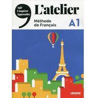 Książki do nauki języka, Atelier A1 Podręcznik + DVD-ROM (opr. miękka)
