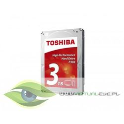 "Toshiba HD3.5"" SATA3 3TB P300 High Perform./7.2k"