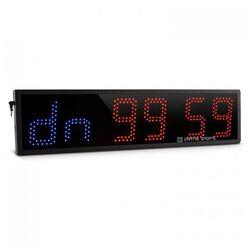 Timeter czasomierz sportowy stoper tabata sekundomierz Cross-Training 6-cyfrowy sygnał dźwiękowy