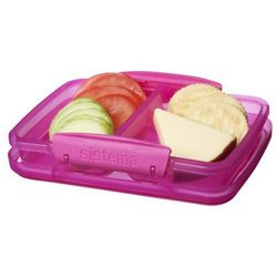 Pojemnik na żywność mały (różowy) Split Sistema