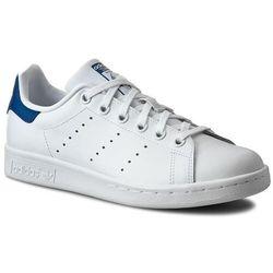 Buty adidas - Stan Smith J S74778 Ftwwht/Ftwwht/Eqtblu
