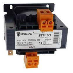 Transformator 1-fazowy STM 63VA 230/24V 16224-9916 BREVE