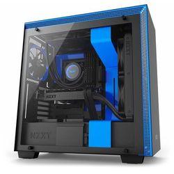 NZXT H700 Window (matowy czarno-niebieski)