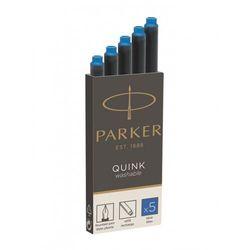 Parker-Naboje z atramentem QUINK-niebieski zmyw.5sz - 1950383- natychmiastowa wysyłka, ponad 4000 punktów odbioru!