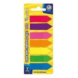 Zakładki indeksujące Astra 7 kolorów