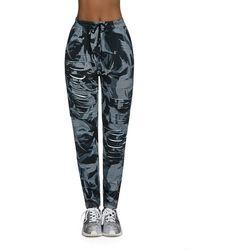 Damskie sportowe spodnie fitness BAS BLACK Yank, XL