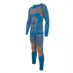 Komplet Bielizny Termoaktywnej Męskiej Viking Scully 54 Niebiesko/Pomarańczowy