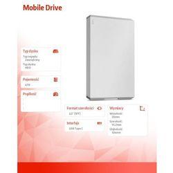 Dysk LACIE Mobile Drive 4 TB + Zamów z DOSTAWĄ JUTRO!