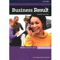 Książki do nauki języka, Business Result 2E Starter SB + online practice (opr. broszurowa)