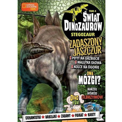 Książki dla dzieci, Świat Dinozaurów 4 Stegozaur - Praca zbiorowa (opr. broszurowa)
