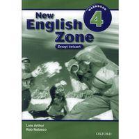 Książki dla dzieci, New English Zone 4 Workbook (opr. broszurowa)