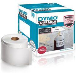 Oryginalne etykiety polipropylenowe DYMO LW 159mm x 104mm durable 1933086 białe/czarny nadruk