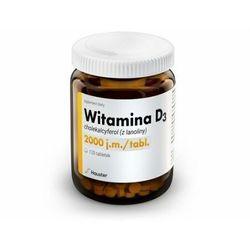 Hauster, Witamina D3 2000 j.m. 120 tabletek