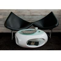 Fotele, Fotel Coco inspirowany Coconut - czarny